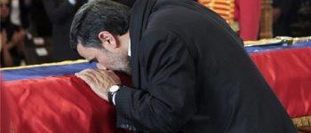 ابراز دلتنگی احمدینژاد جهت چاوز
